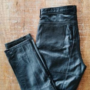 Vintage Lee Riders Genuine Leather Pants
